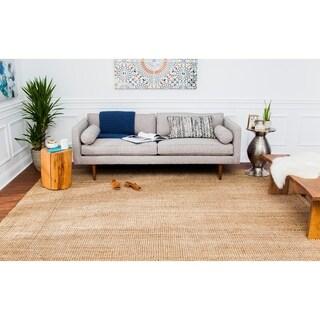 Jani Handwoven Sahara Boucle Jute Rug (5' x 8')