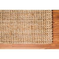 "Jani Sahara Boucle Weave Jute Handwoven Rug - 2'6"" x 8'"