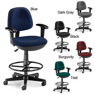 OFM Lite Use Drafting Chair with Arms