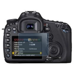 INSTEN Clear Screen Protector for Canon EOS 7D (2-LCD Kit) - Thumbnail 2