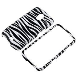 BasAcc Black/ White Zebra Snap-on Case for Samsung Galaxy Nexus i515 - Thumbnail 1