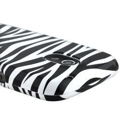 BasAcc Black/ White Zebra Snap-on Case for Samsung Galaxy Nexus i515 - Thumbnail 2