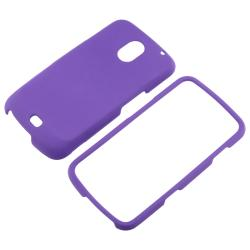 INSTEN Purple Snap-on Rubber Coated Phone Case Cover for Samsung Galaxy Nexus i515