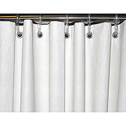 CSI Bathware 66 x 72 White Vinyl Shower Curtain (Pack of 5)