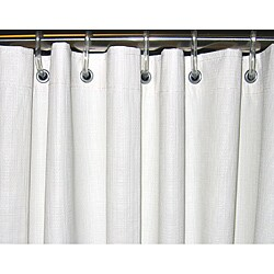 CSI Bathware 66 x 72 White Vinyl Shower Curtain (Pack of 5)