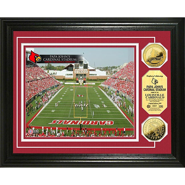 University of Louisville Stadium 24-karat Gold Coin Photo Mint