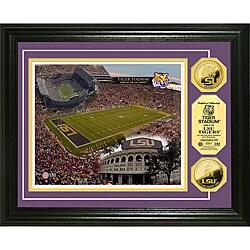 Louisiana State University Stadium 24-karat Gold Coin Photo Mint