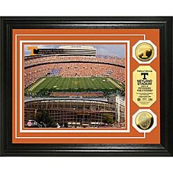 University of Tennessee Stadium 24-karat Gold Coin Photo Mint