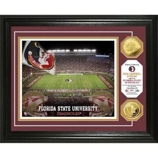 Florida State University Stadium 24-karat Gold Coin Photo Mint