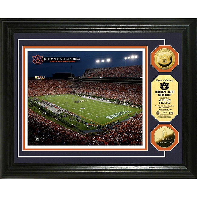 Auburn University Stadium 24-karat Gold Coin Photo Mint