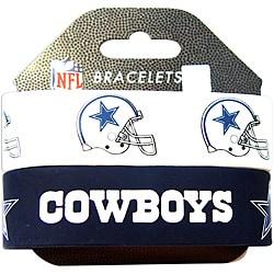 Aminco Dallas Cowboys Rubber Wristbands (Set of 2)