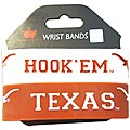 Aminco Texas Longhorns Rubber Wristbands (Set of 2)