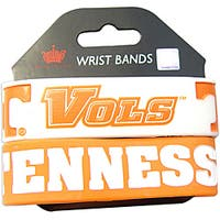 Aminco Tennessee Volunteers Rubber Wristbands (Set of 2)