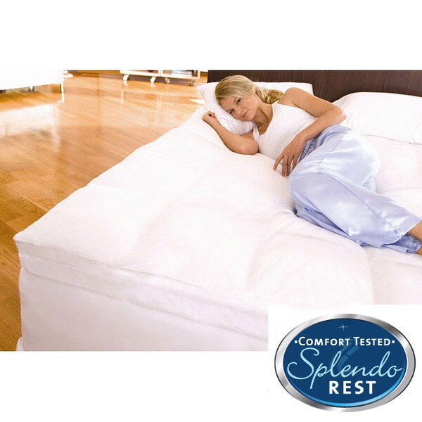 Splendorest Perfect Harmony Queen/ King-size Down Alternative and Memory Foam Mattress Topper