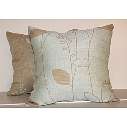 Modern Leaf Decorative Pillows (Set of 2) - Thumbnail 0