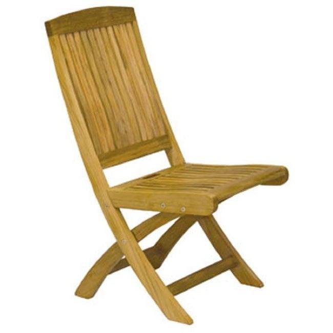 Manchester Teak Folding Side Chair