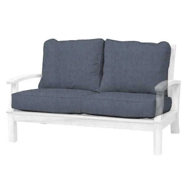 Carmel Heritage Denim Deep Seating 2-Seater Cushion