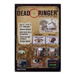 Dead Ringer Mossy Oak Killer Combo Universal Shotgun Sight - Thumbnail 1
