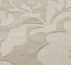 nuLOOM Handmade Pino Floral Beige Rug (8'3 x 11')
