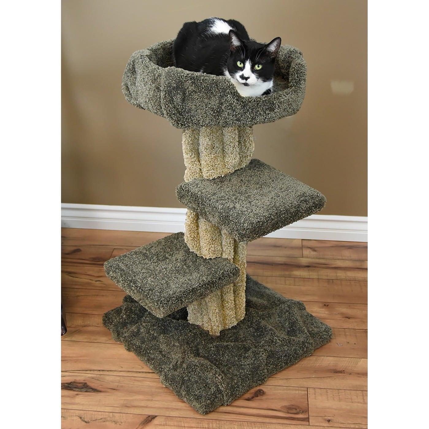 New Cat Condos Cat Play Tree (Play Tree), Brown