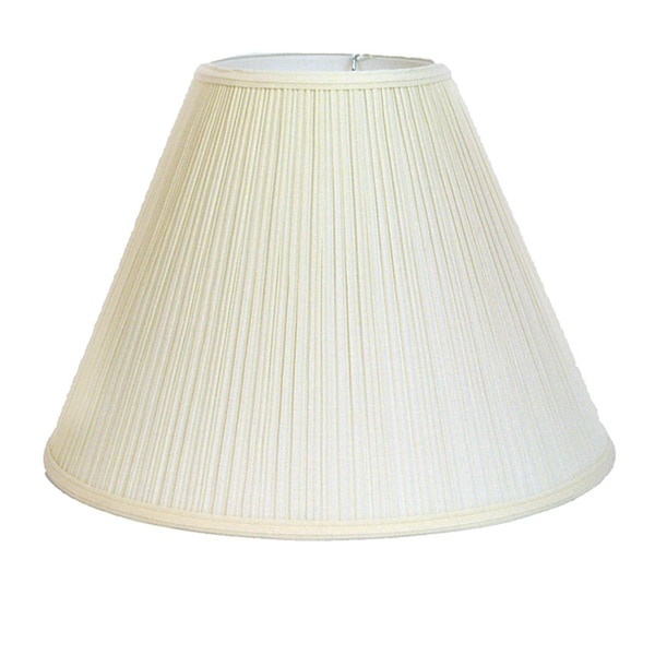 Off-white Pleated Empire Lamp Shade