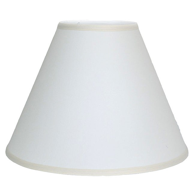 Crown Lighting Off-white Empire Lampshade