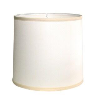 Crown Lighting Off-white Drum Indoor Lampshade