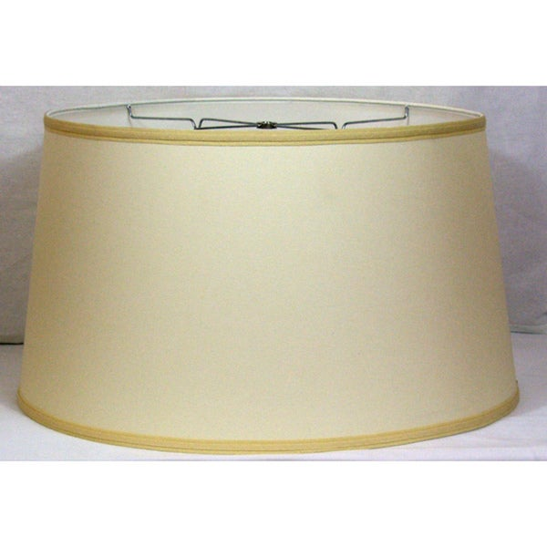 Crown Lighting Off-white Drum Lampshade