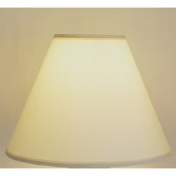 Crown Lighting Off-white Empire Hardback Lampshade