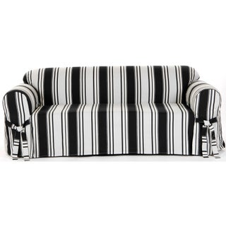 Classic Slipcovers Classic Stripe Cotton Loveseat Slipcover (5 options available)