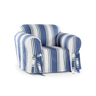 Link to Classic Slipcovers Classic Stripe Chair Slipcover Similar Items in Slipcovers & Furniture Covers