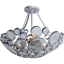 Varaluz Fascination 3-light Nevada Semi-flush Mount