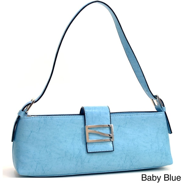 Dasein Petite Shoulder Bag with Buckle