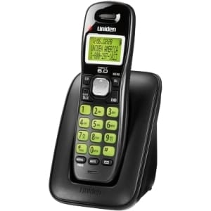 Uniden DECT Cordless Phone - Black