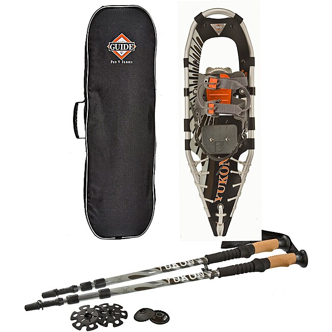 Yukon Charlie's Pro-Guide V 8x25 Snowshoe Kit
