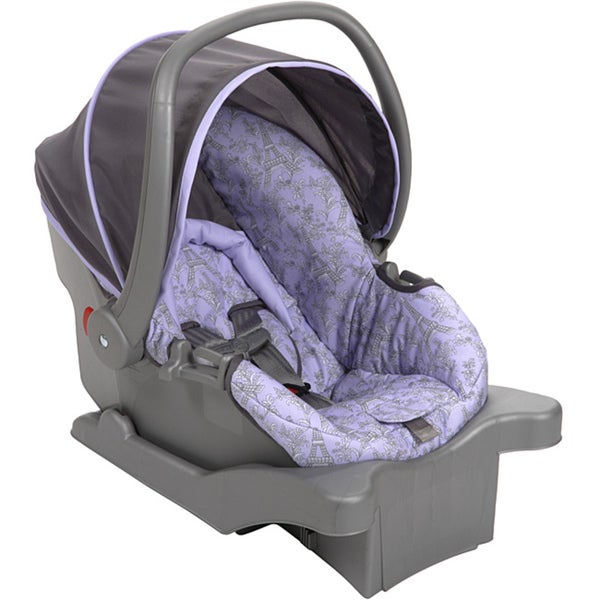 Safety 1st Comfy Carry Elite Plus Infant Car Seat in Eiffel Lavender