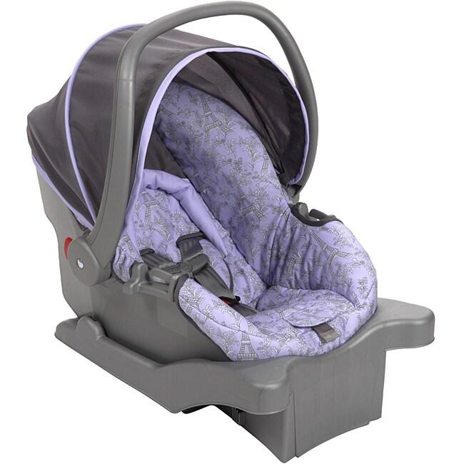 Safety 1st Comfy Carry Elite Plus Infant Car Seat in Eiffel Lavender