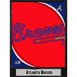 Encore Select Atlanta Braves 2011 Logo Plaque