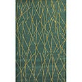 Green Channel Hand Tufted Wool Rug - 8' x 11'