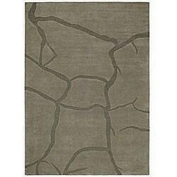 Crecka Hand Tufted Wool Rug - 5' x 8' - Thumbnail 0