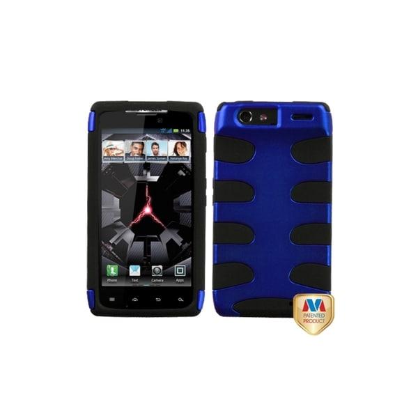 Premium Motorola Droid RAZR 4G Fishbone Hybrid Case