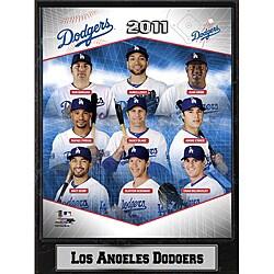 2011 Los Angeles Dodgers 9x12 Stat Plaque