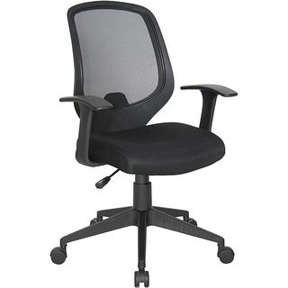 OFM Essentials Series Black-mesh Adjustable Computer and Task Chair
