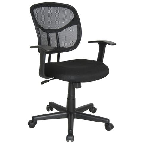 Essentials by OFM E1001 Computer and Task Chair, Black