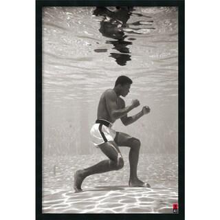 Framed Art Print Ali - Underwater 26 x 38-inch