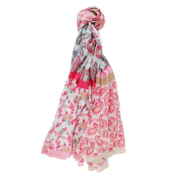 Women's Paisley Scarf (India)