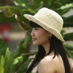 Handmade Sea Grass Summer Hat (Indonesia)