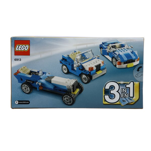 LEGO Creator Blue Roadster 6913 Blocks Set