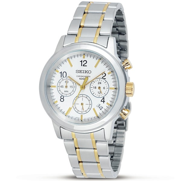 Seiko Men's Two-tone Stainless Steel Watch