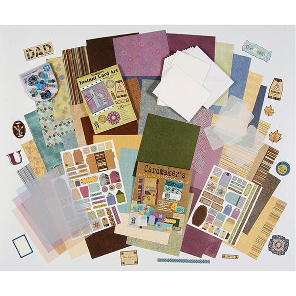 Hot off the Press 'Earth's Palette' Cardmaking Kit